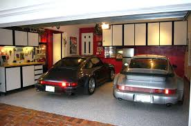 blue and grey painted garagebest paint colors for garage walls