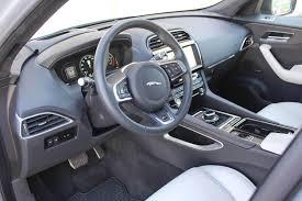 jaguar f pace grey 2017 jaguar f pace first edition review autoweb