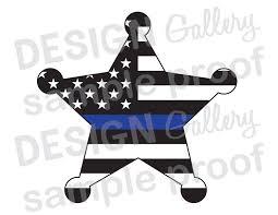 Iron On American Flag Deputy Sheriff Badge American Flag Thin Blue Line Jpg Png