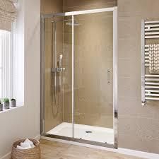 Shower Room Door by 1200 Mm Sliding Glass Cubicle Door Modern Bathroom Alcove Shower