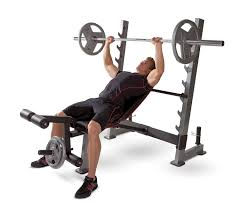 olympic weight set with bench and squat rack bench decoration