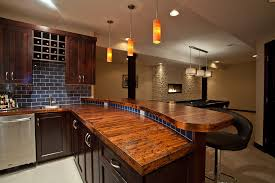 Counter Bar Top Bar Countertop Ideas Home Bar Traditional With Dark Wood Cabinets