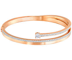 gold swarovski bracelet images Fresh bangle white rose gold plating jewelry swarovski jpg