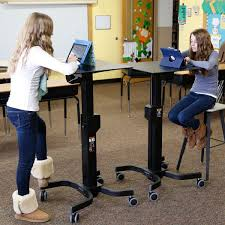 Standing Desk Ergotron Ergotron Learnfit 2 Adjustable Standing Desk Welnis