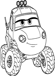 planes dynamite car coloring page wecoloringpage
