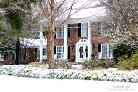 southern colonial house a beautiful blanket of snow dwellings the heart of your home