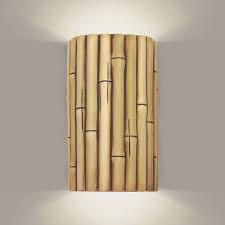 bamboo wall sconce lighting u2022 wall sconces
