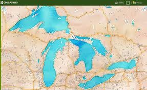 Stamen Maps The Caching Bag Geocaching Watercolor Souvenir Maps