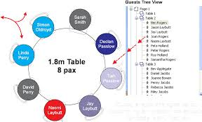 event layout software used to create function planstable plan