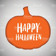 halloween background pumpkin halloween background pumpkin cut out shape stock vector art