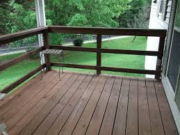 horizontal deck railing the advantages and disadvantages homesfeed