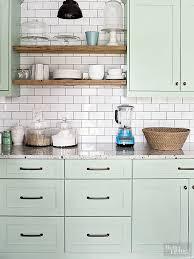 kitchen cabinet paint colors green trendspotting colorful kitchen cabinet colors run to radiance