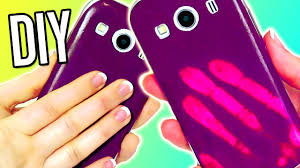 diy color changing phone case mood iphone easy youtube