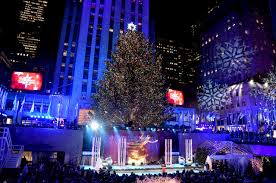 Rockefeller Tree 85th Annual Rockefeller Center Tree Lighting Cbs New York