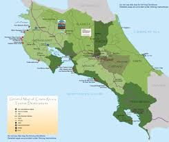 San Jose Costa Rica Map by Costa Rica Attractions Arenal Costa Rica Map Been There Done
