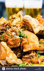 Small Chicken Frango A Passarinho Fried Small Chicken Pieces Typical Food Of