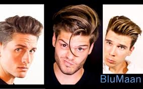 mens hair 3 different hairstyles 3 different hair types youtube