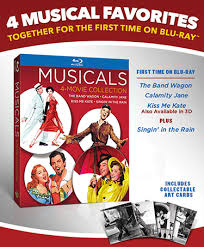 four classic musicals one collection warner bros