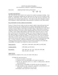 Pta Resume Examples by Occupational Therapy Resume Tips Licensed Massage Therapist