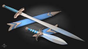 Nicklee Artstation Weapons Fantasy Weapons For Skipper R U0026d Nick Lee