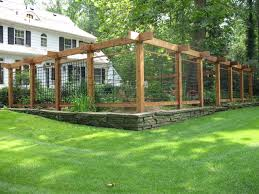 Garden Barrier Ideas Deer Fencing For Vegetable Gardens Fences Ideas