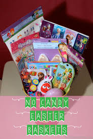 candy basket ideas no candy easter basket ideas the inspired home