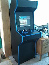Make Your Own Arcade Cabinet by Flat Pack Upright Arcade Cabinet Kit