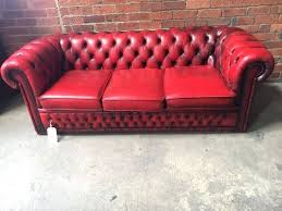 Chesterfield Sofa Bed Oxblood Chesterfield Sofa Bed Centerfieldbar Com