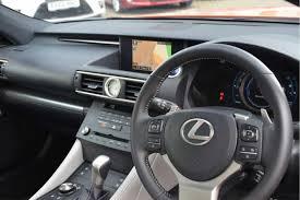 lexus rc300h uk used 2016 lexus rc 300h 2 5 f sport 2dr cvt auto sunroof prem nav
