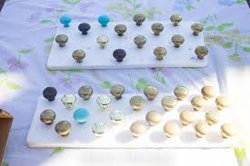 how to paint kitchen knobs kitchen hardware upgrade for the apartment renter tips forrent