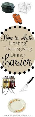 how to make hosting thanksgiving dinner easier with a complete list