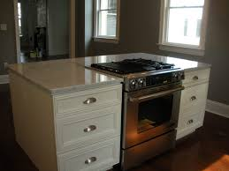 outstanding kitchen island with cooktop and hood photo design