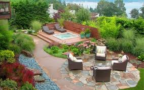 Landscaping Ideas For Backyard On A Budget Backyard Large Size Garden Ideas Cheap Backyard Landscaping