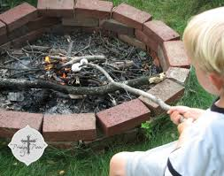 Make A Firepit Wood Burning Pit How To Make A In Your Backyard