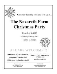 nazareth farm christmas party u2013 nazareth farm