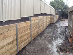 timber retaining wall cost photo albums landscape timber