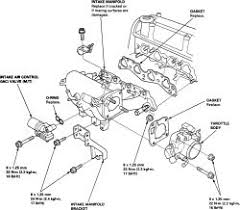 how to replace an intake manifold on all 1996 2000 honda civic