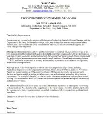 federal cover letter