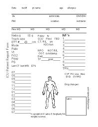 icu report sheet template nursing report sheet fieldstation co