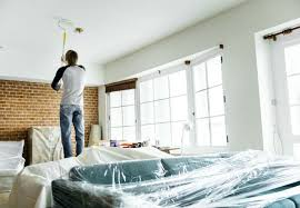 best non yellowing white eggshell paint the best paint for ceilings how to get a drip free finish