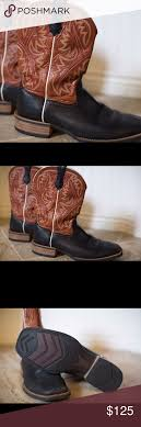 ariat s boots size 12 ariat boots gently worn size 12 ariat leather boots