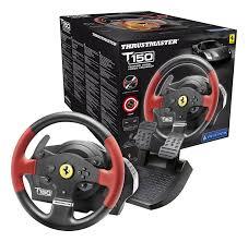 ferrari steering wheel thrustmaster t150 ferrari force feedback wheel ps4 ps3 pc dvd