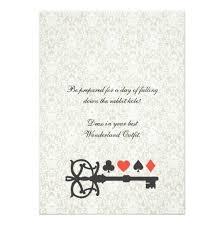 vintage alice in wonderland tea party birthday invitation card