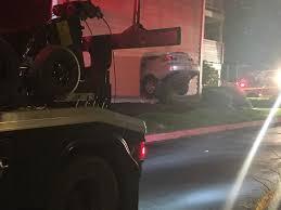 apartment dweller dead after car crashes through wall klew