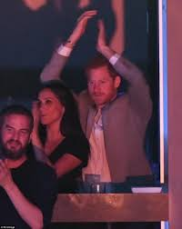 Meghan Markle And Prince Harry Prince Harry Kisses Meghan On The Lips At Invictus Games Daily