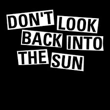 don t look back into the sun t shirt inspired by the libertines