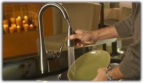 arbor kitchen faucet moen 7594c arbor one handle high arc pulldown kitchen faucet chrome