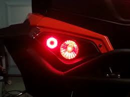 can am outlander tail light bulb tail light reflector upgrade