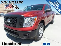 nissan truck titan red new 2017 nissan titan s crew cab in lincoln 4n17830 sid dillon