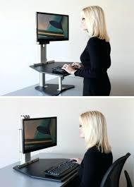 Diy Ikea Standing Desk by Desk Adjustable Height Desk Ikea Hack Chic Variable Height Desk